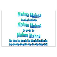 Mahna Mahna Posters