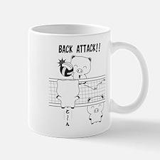 Volleyball back attack Mug