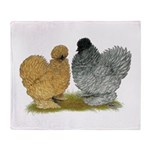 Sizzle Chickens Throw Blanket