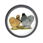 Sizzle Chickens Wall Clock