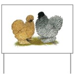 Sizzle Chickens Yard Sign