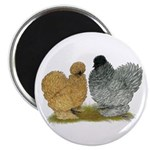 """Sizzle Chickens 2.25"""" Magnet (10 pack)"""