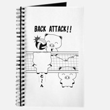 Volleyball back attack Journal