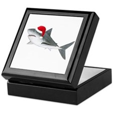 Christmas - Santa - Shark Keepsake Box