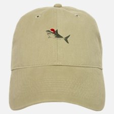 Christmas - Santa - Shark Baseball Baseball Cap
