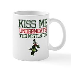 Kiss Under Mistletoe Mug