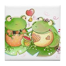 Unique Frog Tile Coaster