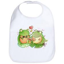 Funny Frog Bib