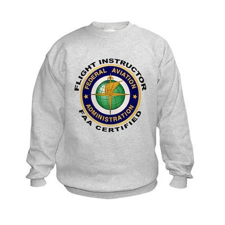 Flight Instructor Kids Sweatshirt