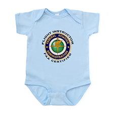 Flight Instructor Infant Bodysuit