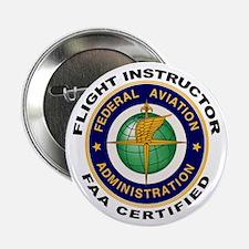 "Flight Instructor 2.25"" Button (10 pack)"