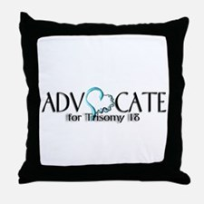 T 18 Advocate Throw Pillow