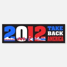 Take Back America 2012 Sticker (Bumper)