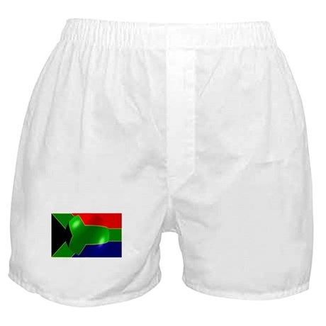South African Flag Design Boxer Shorts