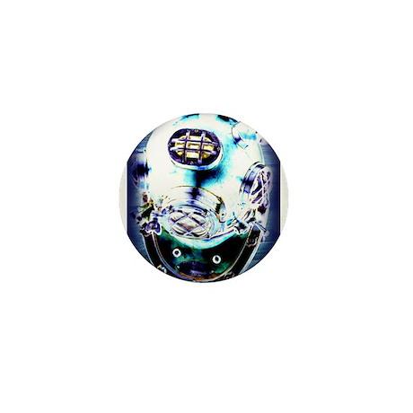 Deep Sea Diver Mini Button (10 pack)