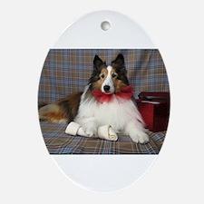 A Present Ornament (Oval)