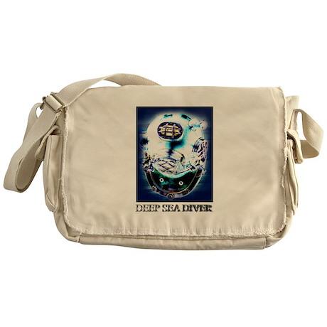 Deep Sea Diver Gear Messenger Bag