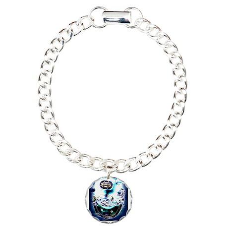 Deep Sea Diver Gear Charm Bracelet, One Charm