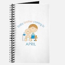 Baby Bro Due April Journal