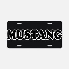 Mustang License Plate