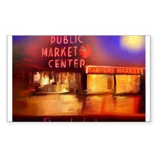 Cute Pike place market Decal
