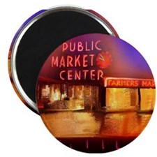Cute Pike place market Magnet