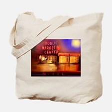 Cute Pike place market seattle Tote Bag