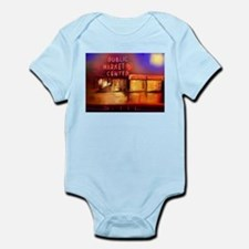 Cute Pike place market seattle Infant Bodysuit