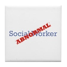 Social Worker / Abnormal Tile Coaster