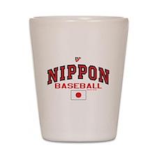 Japan Nippon Baseball Shot Glass