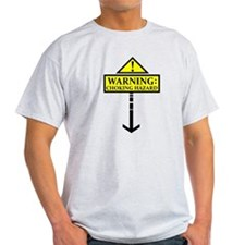 Warning: Choking Hazard! light t-shirt