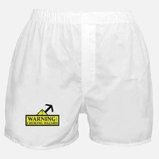 Warning: Choking Hazard! boxer shorts