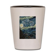 Starry Night Shot Glass