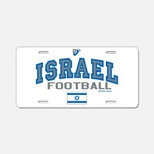 Israel Football/Soccer Aluminum License Plate