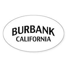 Burbank California Decal