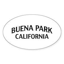 Buena Park California Decal