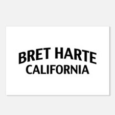 Bret Harte California Postcards (Package of 8)