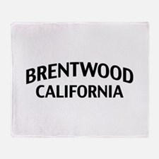 Brentwood California Throw Blanket