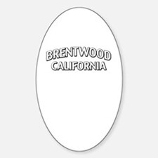 Brentwood California Decal