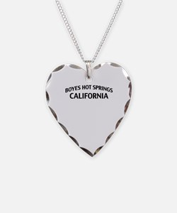 Boyes Hot Springs California Necklace