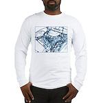 """""""Under the Hood"""" art Long Sleeve T-Shirt"""