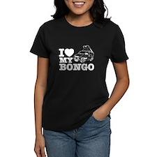 I Love My Bongo - Blue Tee