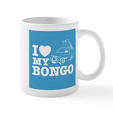 I Love My Bongo - Blue Small Mug