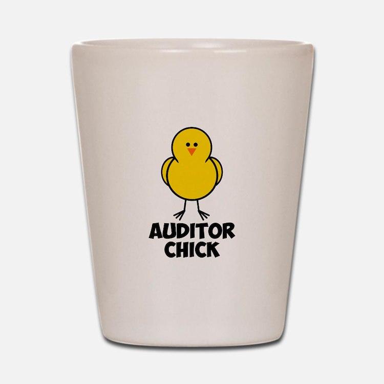 Auditor Chick Shot Glass