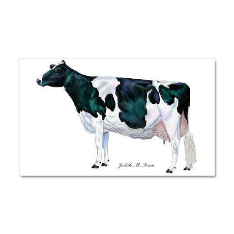 Holstein Cow Car Magnet 20 x 12