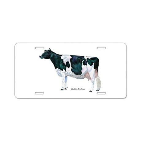 Holstein Cow Aluminum License Plate