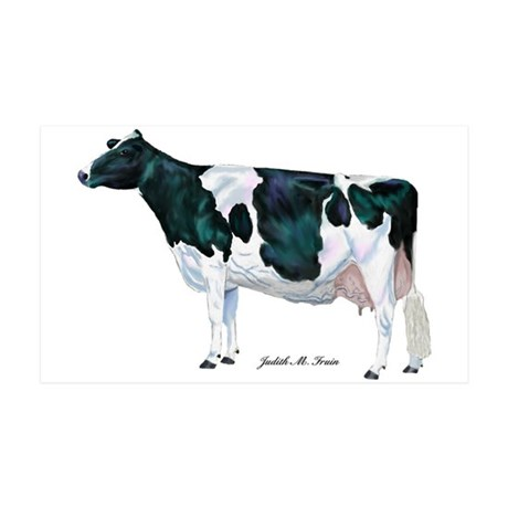 Holstein Cow 35x21 Wall Decal