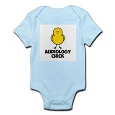 Audiology Chick Infant Bodysuit