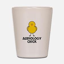 Audiology Chick Shot Glass