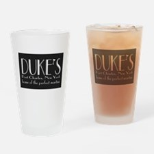 Dukes Martini Port Charles New York Drinking Glass